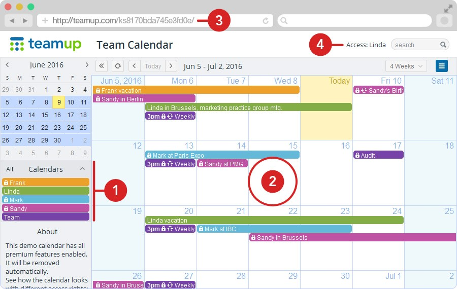 How Teamup Is Different \u2013 Teamup Calendar \u2013 Shared online calendar