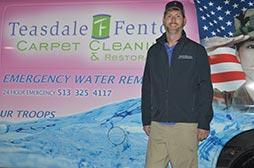 Meet Carpet Tech Brandon Austin From Teasdale Fenton