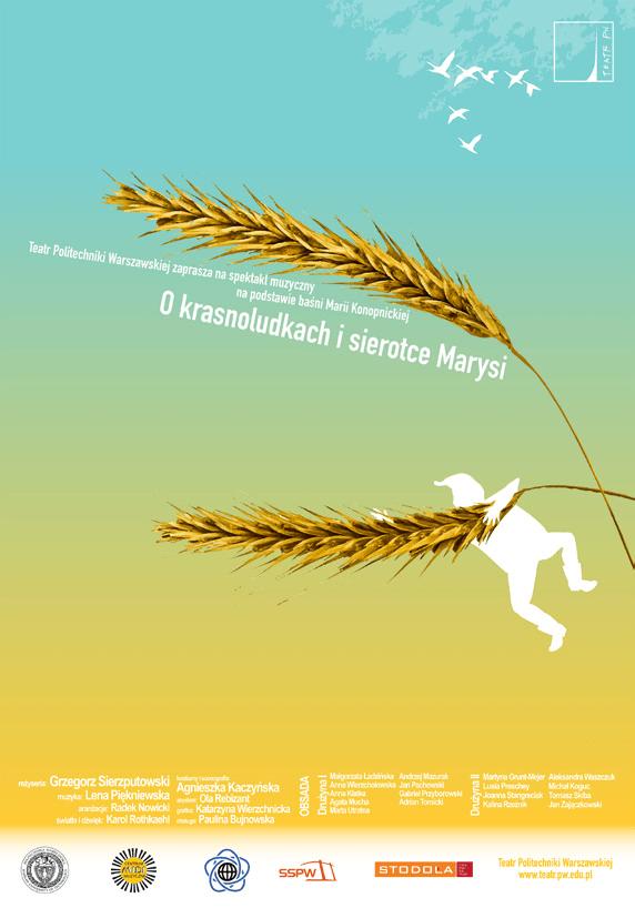 O Krasnoludkach i Sierotce Marysi - Plakat
