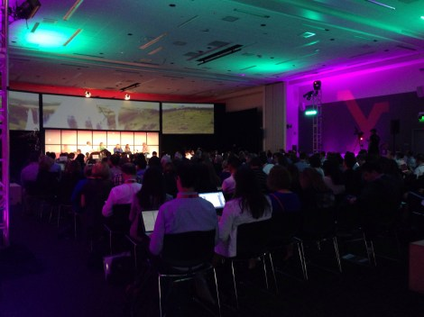 The inside of MedX 2013