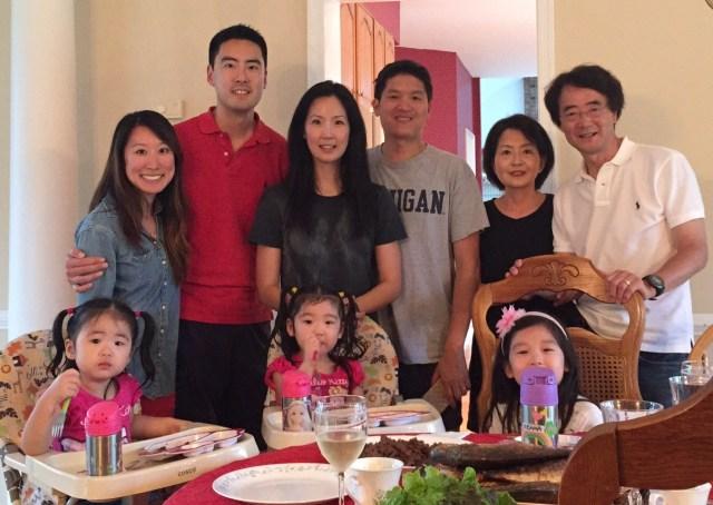 Park family photo