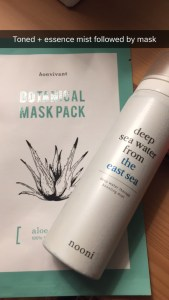 bon vivant Botanical mask pack