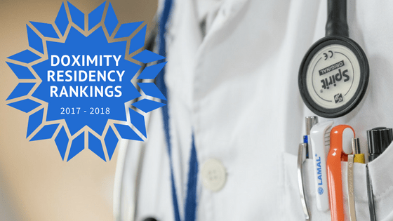 Doximity Residency Navigator 2017 - 2018
