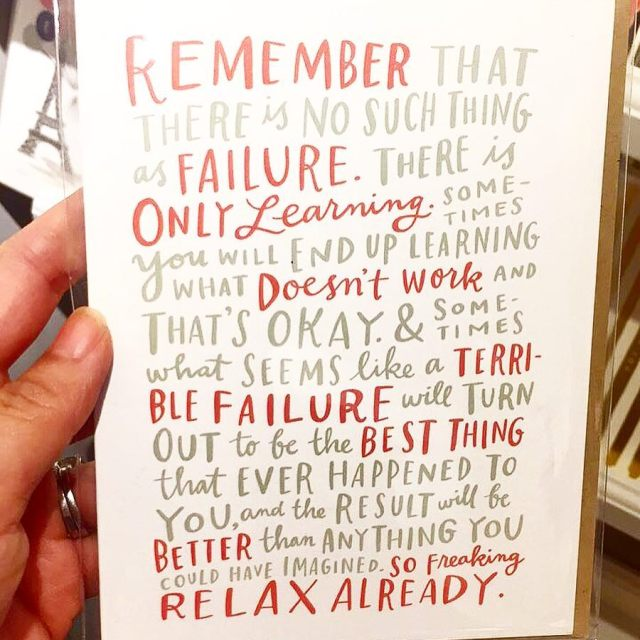 A little Monday motivation for you from a card Ihellip