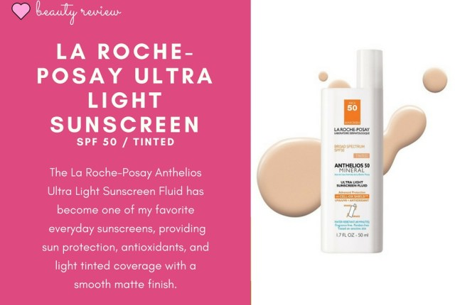 La Roche Posay Ultra Light Sunscreen Fluid review