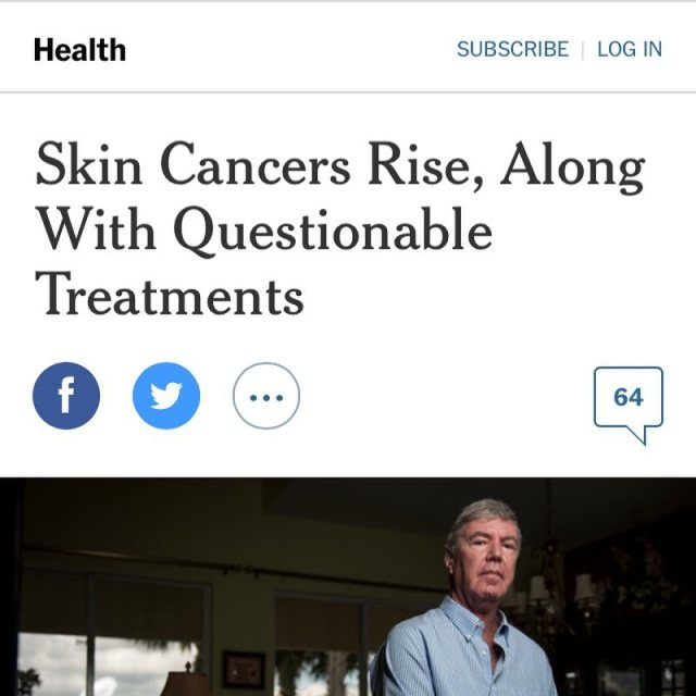 Interesting piece nytimes on the field of dermatology addressing questionshellip