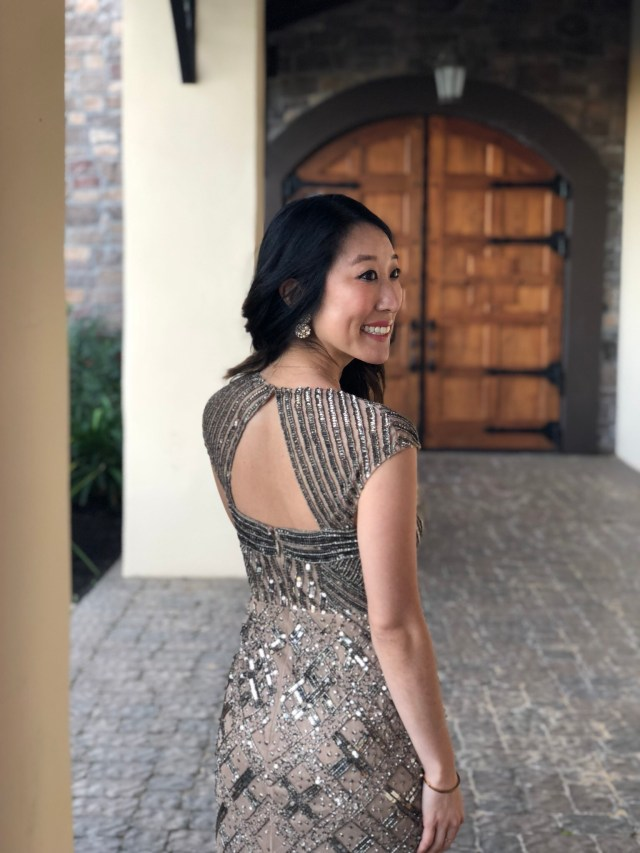 rewearing bridesmaid dresses adrianna papell