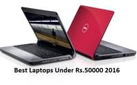 Best laptops under 50000 in india 2016