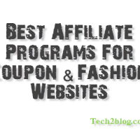 Best Affiliate Programs for Coupon & Fashion Website