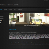 Best & Economical Joomla Template to Make Mobile Website
