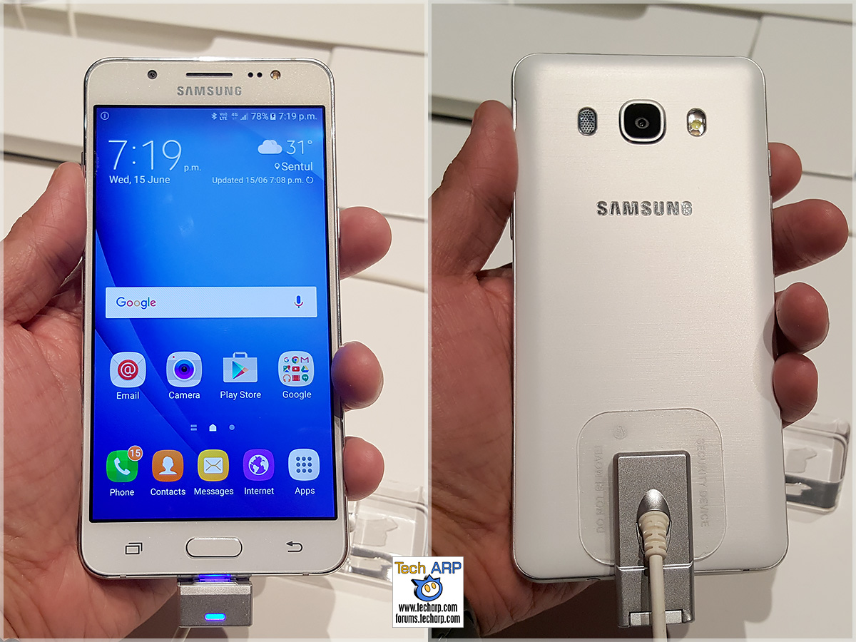 2016 Samsung Galaxy J Series Hands On Preview