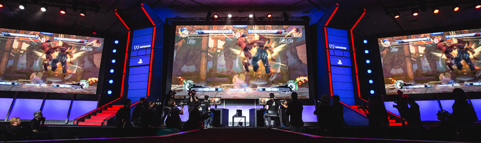 Capcom's worldwide Street Fighter Pro Tour Tournament in Games Middle East 2016 Dubai