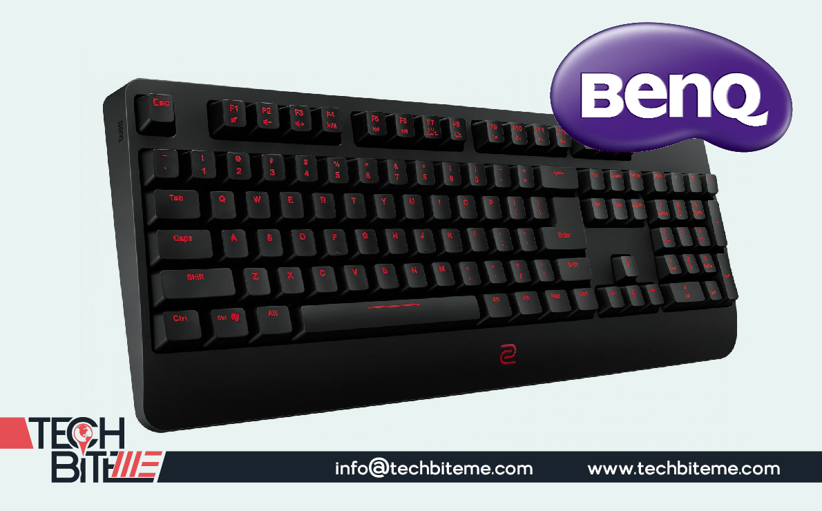 BenQ Unveils its New ZOWIE e-Sport Celeritas II Keyboard For Quality Gaming