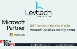 Levtech Consulting recognized as finalist for 2017 Microsoft Dynamics Industry Partner of the Year Award