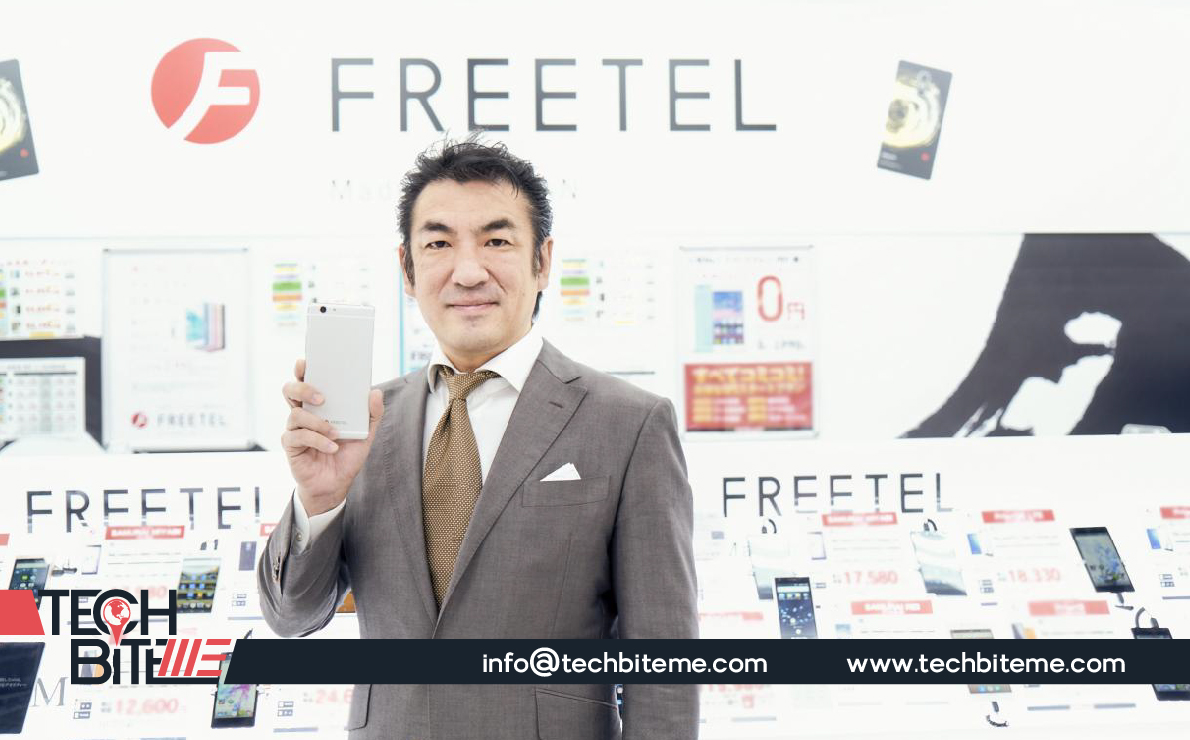 Japanese Budget Smart Phone Maker, FREETEL enters to Egypt, Fifth Market in Middle East & Africa