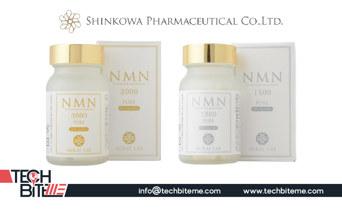 Shinkowa Pharmaceutical Co., Ltd., Distributor of the World's First Supplements Containing β-Nicotinamide Mononucleotide (NMN)