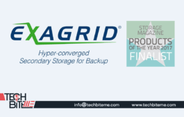"ExaGrid Selected as Finalist for Storage Magazine's 2017 ""Product of the Year – Backup and DR Hardware"" Award"