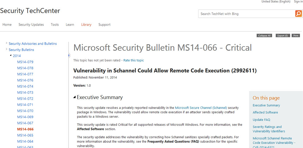 MICROSOFT CRITICAL WARNING THIS AFFECTS ANYONE WITH A WINDOWS PC - microsoft bulletin