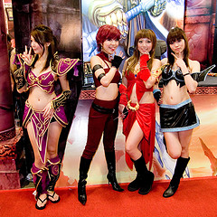 World of Warcraft Cosplay Girls
