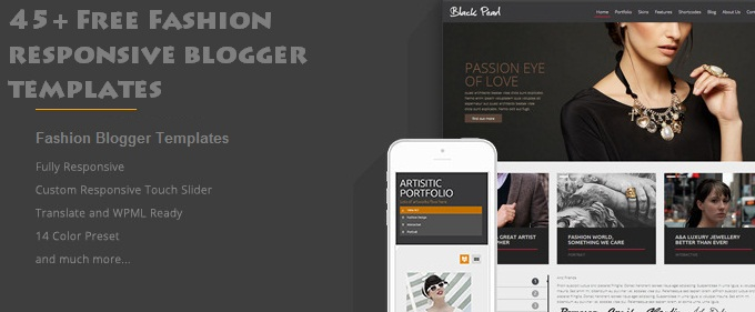 45+ Free Fashion Responsive Blogger Templates - TechClient - fashion blogger templates
