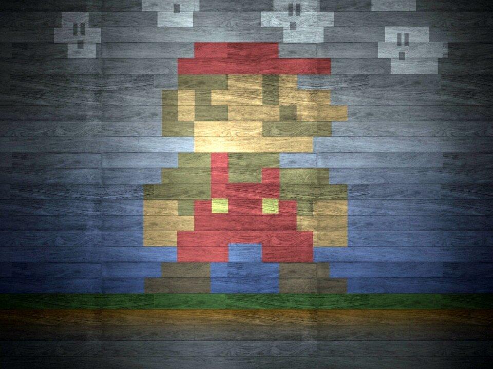 Retro Apple Wallpaper Iphone X Techcredo 8 Bit Super Mario And Retro Pixels Wallpapers