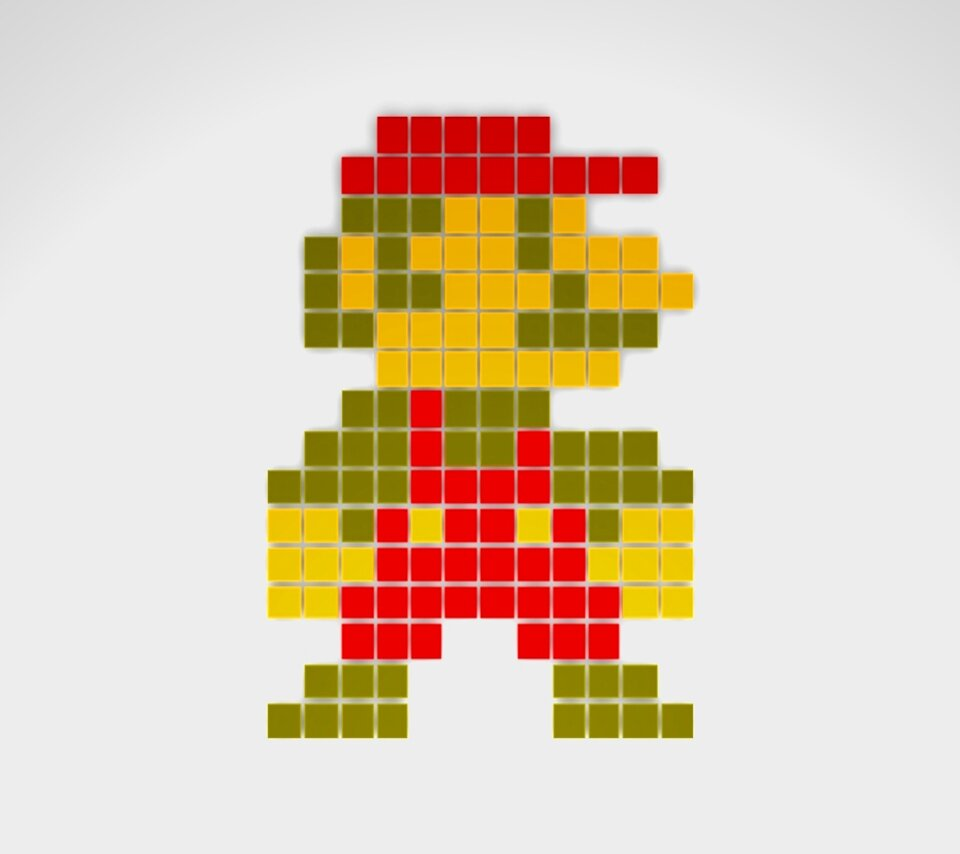 Retro Apple Wallpaper Iphone X Techcredo 8 Bit Super Mario And Retro Pixels Wallpapers
