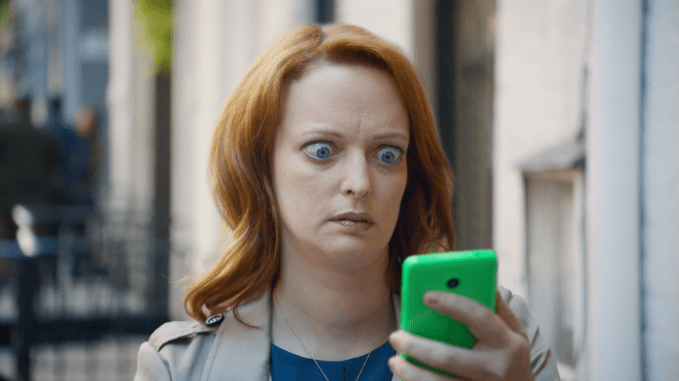 EE's buffer face campaign. The brand is due to disappear following BT acquisition