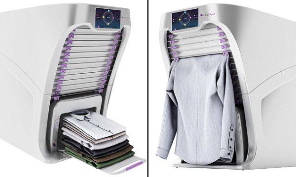FoldiMate: o robô que engoma e dobra a sua roupa