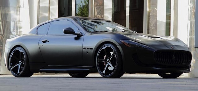 Rx8 Iphone Wallpaper Gallery Blacked Out Maserati Granturismo
