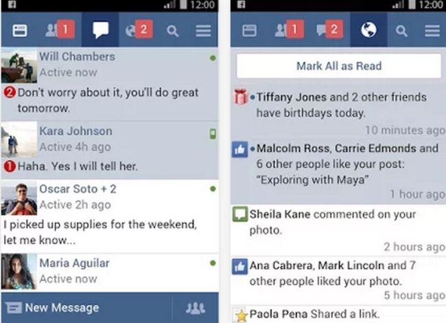 Facebook Lite App for Android users
