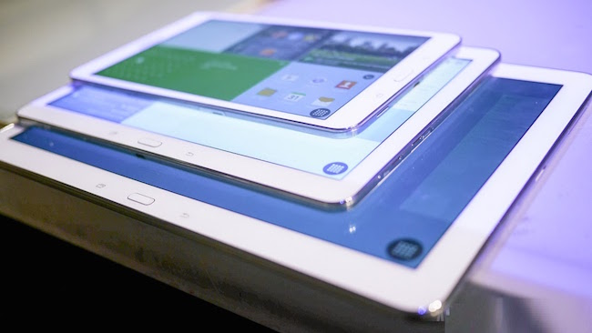 18.4 inches samsung tablet spotted