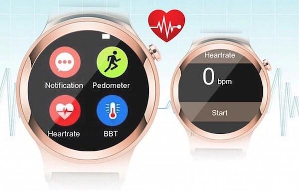 S3 Smartwatch Phone sensors