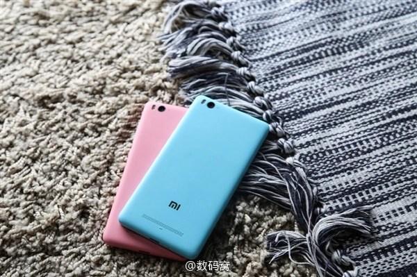 Xiaomi MI 4c Light blue n Pink