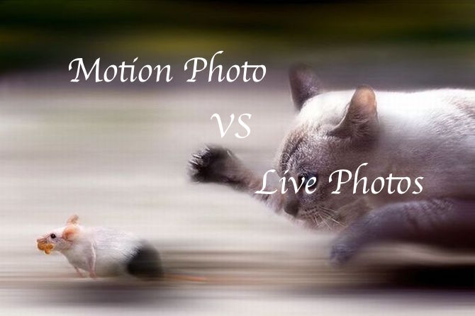 Live Photos vs Motion Photo
