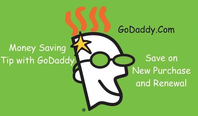 Money Saving Tip for GoDaddy Users