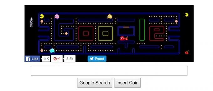 Google PacMan