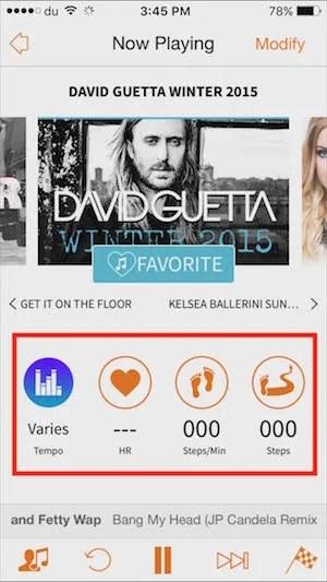 Excercise Music App