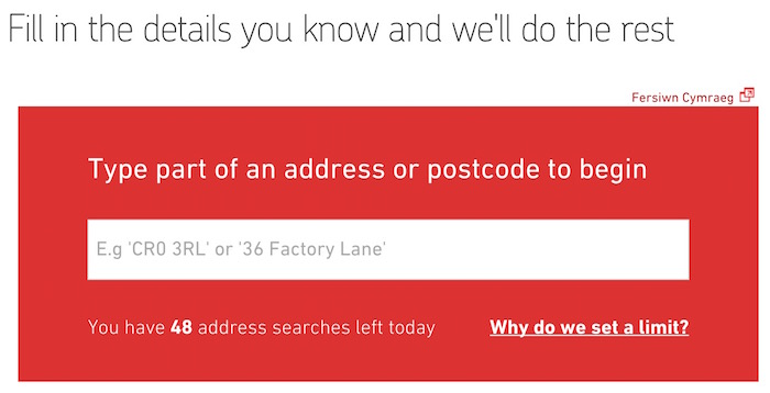 Royall Mail Address Finder