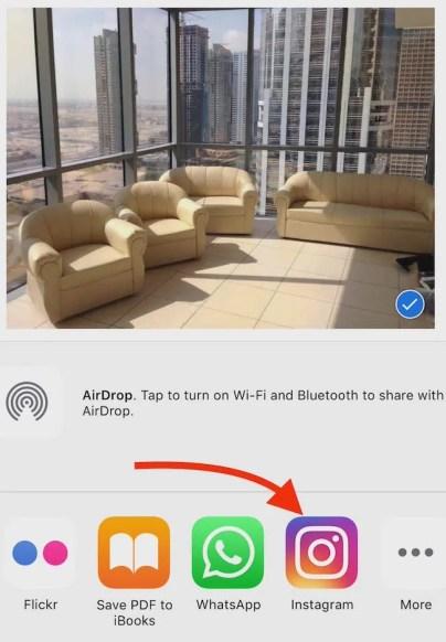 Instagram Sharing