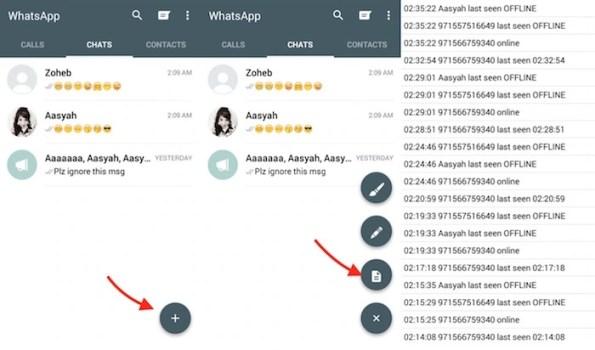WhatsApp Plus Log