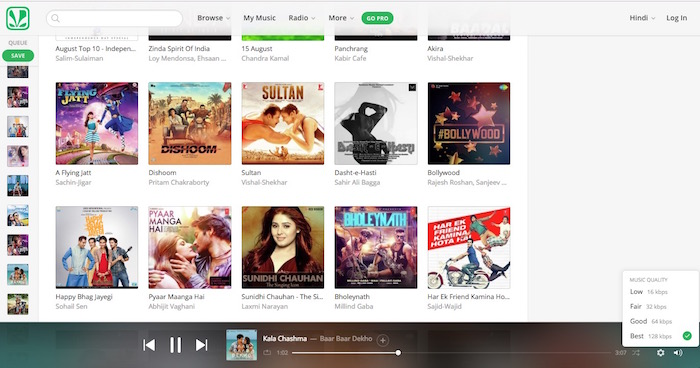 Saavn Music Streaming