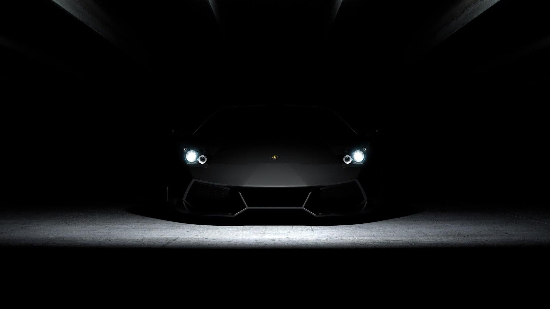 3D car Black Wallpaper