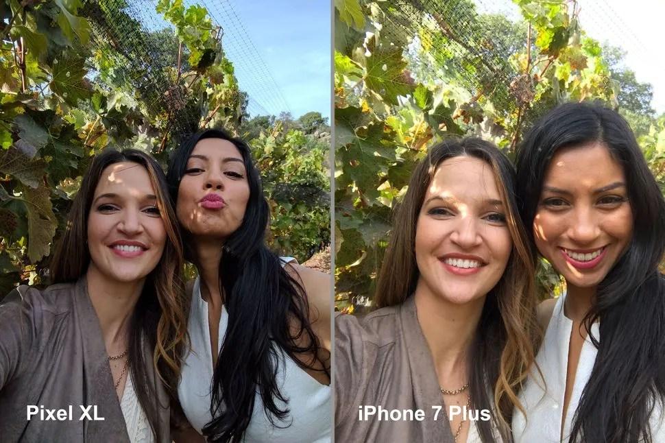 selfie-iphone-7-vs-pixel-xl
