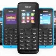 Nokia 105 and Nokia 301