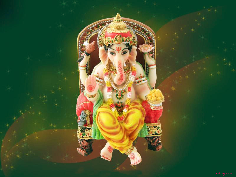 Vinayagar Animation Wallpaper Ganesh Chaturthi Hd Images Wallpapers Pics And Photos