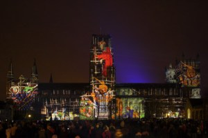 ETC London Durham Festival of Light lum131941312a 300x200 E/T/C UK sets new UK cathedral projection record