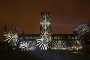 ETC London Durham Festival of Light lum140013132a 300x200 E/T/C UK sets new UK cathedral projection record