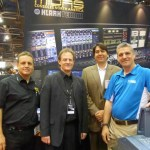 Jonathan Chitty and John Oakley, Midas Klark Teknik; Jeffrey Carman and Bill Kinal, Erikson Audio