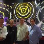 Simon Stuart (Managing Director, HSL), Mike Walker (Sales Director, Martin), Mike Oates (Project Manager, HSL), Andy Hurst (Creative Director, HSL)
