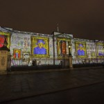 Projection Studio in New World Record Attempt at Buckingham Palace